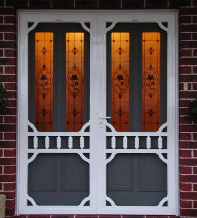 decorative security doors in perth - westcoast blinds wa