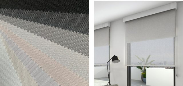 roller blind fabric options